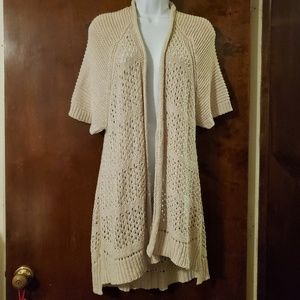 Anthropologie | Guinevere Open Front Cardigan M